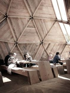 Peoples Meeting Dome by Kristoffer Tejlgaard & Benny Jepsen