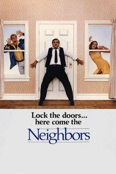 Movie with crazy cop as neighbor