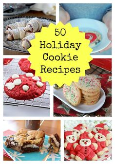 Christmas Cookie Recipes | 50 Holiday Cookie Recipes: From Easy To Difficult