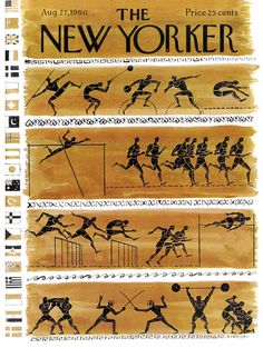 An Olympic-themed cover from the 1960 Games in Rome. Click-through to see more Olympic covers: http://nyr.kr/MmfwOE