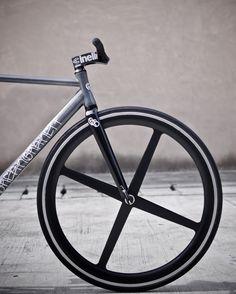 Cinelli, Black wheel, fixed