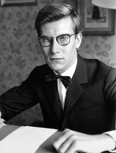 Yves Saint Laurent by Luc Fournol, 1960.