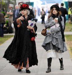 Helena Bonham Carter and Mother