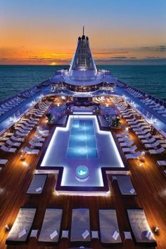8 cruise ship pools that will wow you