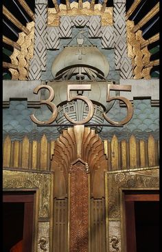 Amazing Art Deco Door