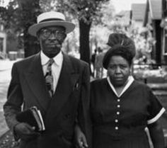 Husband and wife, Kansas 1949