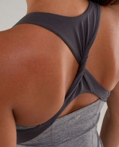 lulu... I love lulu lemon athletic clothes, once you try them you'll never go back! Promise!!