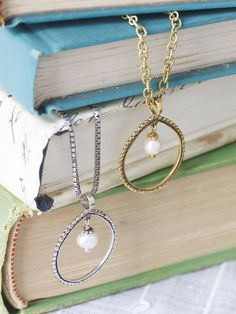 The beautiful Soho necklaces....so classy and timeless...  www.cjohnson.willowhouse.com