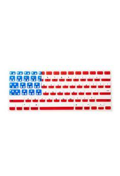 4th of july keyboard art