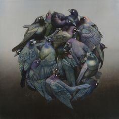 Oil Slick by Tiffany Bozic