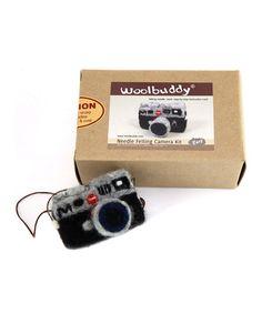 Camera Needle Felting Kit