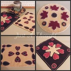 home sanctuary  Penny Rugs