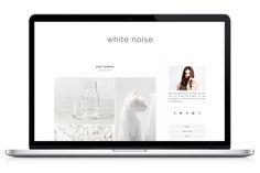 Responsive WP Theme - WhiteNoise by Light Morango on Creative Market
