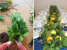 DIY Fresh Garland