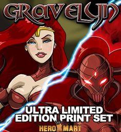 Gravelyn Deluxe Print