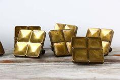 // vintage brass drawer pulls