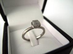Raw diamond ring- LOVE IT!