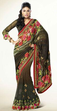 Glamorous Multicolor Saree