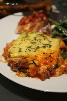 Carbless lasagne using zucchini instead of pasta sheets | eateatplay.wordpress.com