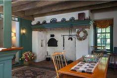1752 coloni inspir, berk counti, coloni fireplac, farms, coloni decor, road, 1790 limekiln, farmhouse kitchens, windsor chairs