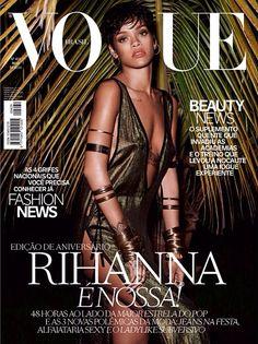 Rihanna on Vogue Brazil