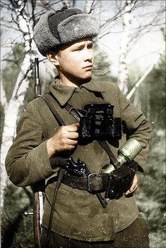 Soviet partisan WWII