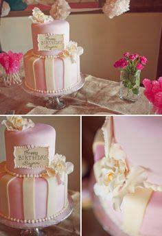 adorable birthday cake