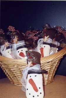 Snowmen ornies, great for gifts, trees