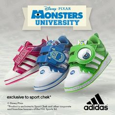 Monsters University by Adidas - FaShionFReaks