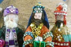Exotic Art Dolls The Three Wise Men Miniatures miniatures, men miniatur, wise men, exot art, art dolls, three wise
