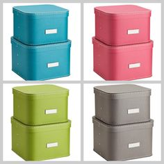 Ooh! Me like!  Oskar Boxes  - great for storage!