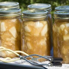 Apple pie filling Canning recipe