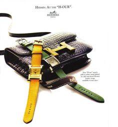 Hermès ad, 1993.