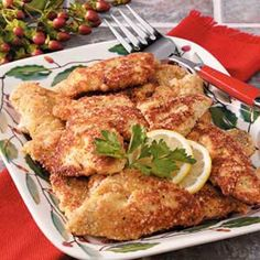 Fried Bluegill Fillets Recipe--from Taste of Home