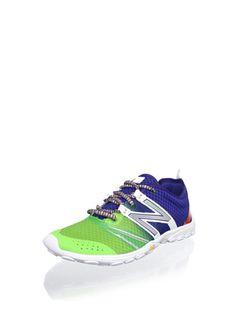 35% OFF New Balance Women's WT20 Minimus Alpha Trail Running Shoe (Blue/Lime)