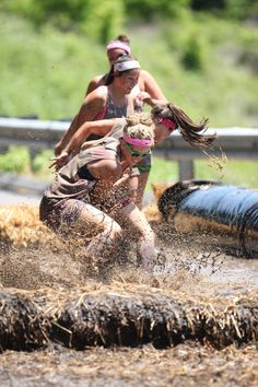 Dirty Girl Mud Run. Not your husband's or boyfriend's 5k...Always wanted to try this!