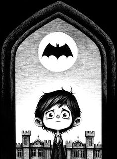 Young Bruce Wayne Art Set for Mondo Art Show — GeekTyrant