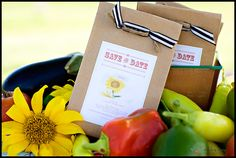 """make seed packets with """"fruit of the spirit"""" bible verse printed on it...."""