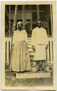 African-American couple, time and place unknown