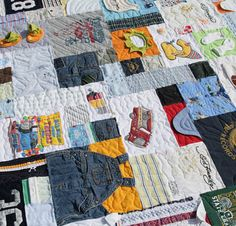 baby quilts, babi quilt, memory quilts, baby clothes quilt, quilt memori, babi cloth, boy quilts, babies clothes, cloth quilt