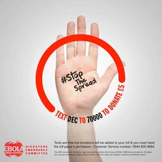 Help #StopTheSpread. UK Govt will double your donation...