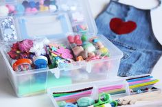 Happy Hooligans makes a craft kit that's perfect for little crafters on the go!