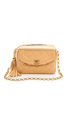 Chanel Quilted Tassel Bag