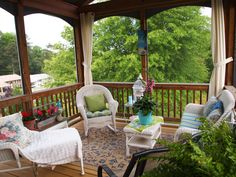 Porches And Patios on Pinterest