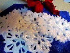 Snowflake Soaps | AllFreeChristmasCrafts.com