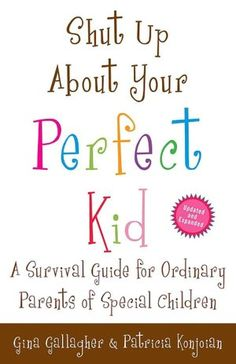 Wonderful book for parents with special needs children..