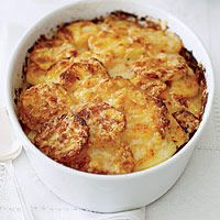 Potato Gratin with Gruyère... Possible side dish for Thanksgiving dinner
