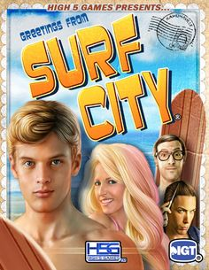 Surf City - Slot Game by H5G