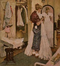 "Norman Rockwell ""Dress"""