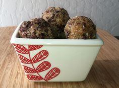 Lemon-Coconut Date Balls